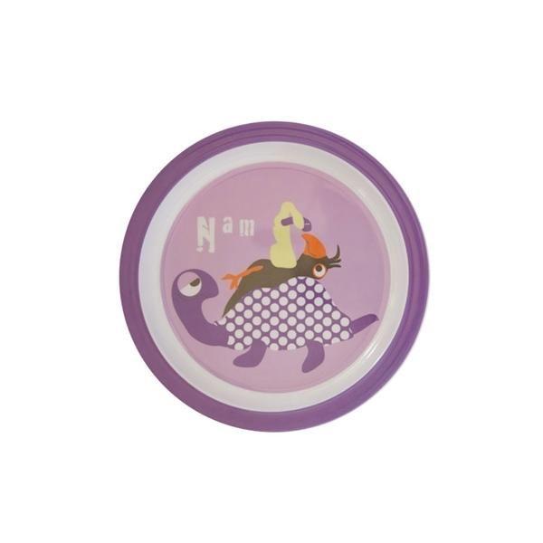 Billede af Flad tallerken lilla - KIDS by FRIIS