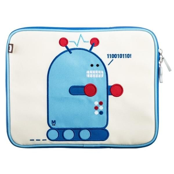 Image of Ipad cover, Pixel, robot - Beatrix (1058)