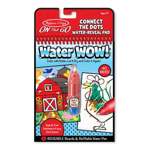 Image of Water WOW, prik til prik - Melissa & Doug (2812)