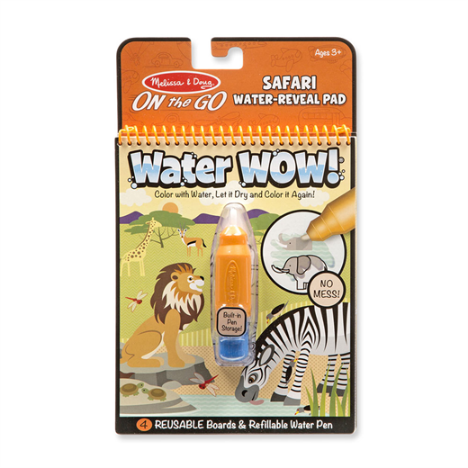 Image of Water WOW, safari - Melissa & Doug (2800)