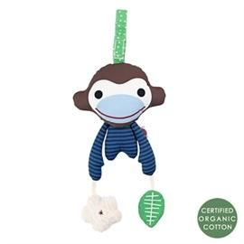 Asger blue monkey, activity toy - Franck & Fischer