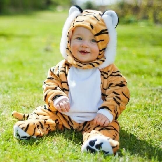 Image of   Baby tiger kostume - Travis Designs