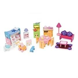 Deluxe furniture set, møbler til dukkehus - Le Toy Van