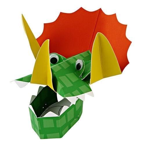 Billede af Dinosaurus hat, 8 stk - Meri Meri