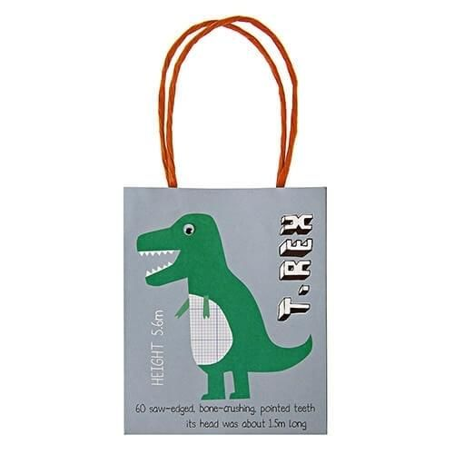Image of Dinosaurus party bags, 8 stk. - Meri Meri (1193)