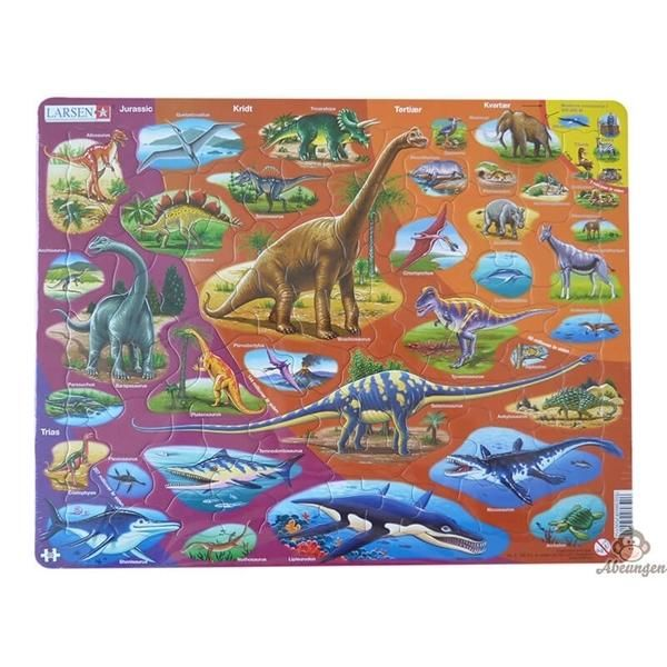 Dinosaurus puslespil - Larsen