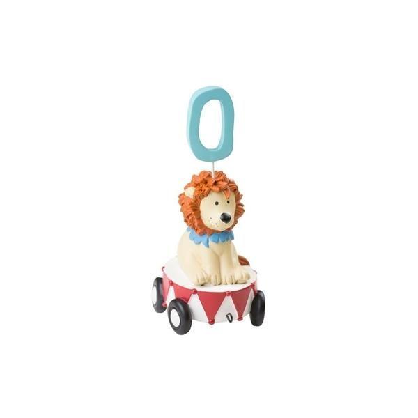 Ekstra vogn til tog, løve med 10 tal - KIDS by FRIIS