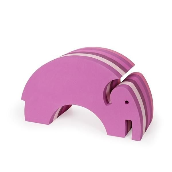 Image of Elefant, multi pink - bObles (280)