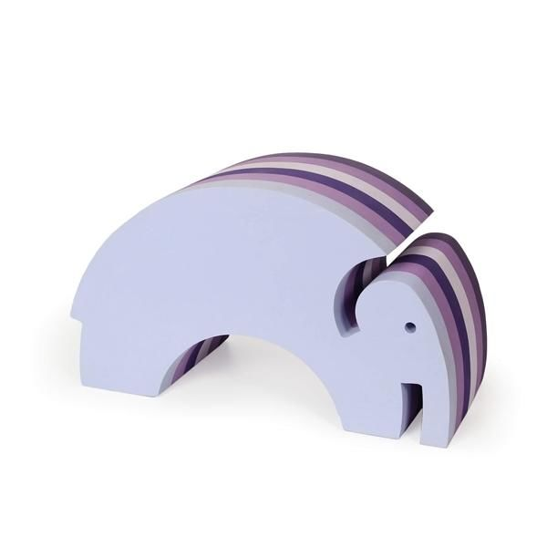 Elefant, multi lilla - bObles