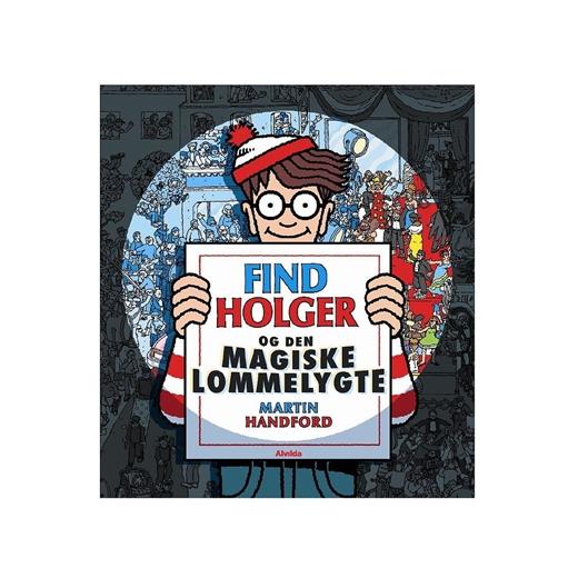 Image of   Find Holger og den magiske lommelygte - Alvilda
