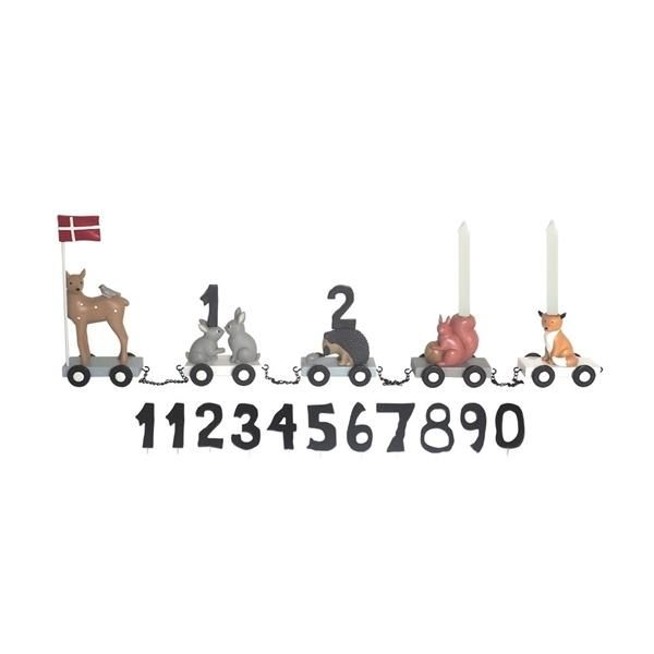 Image of   Fødselsdagstog, skovdyr - KIDS by FRIIS