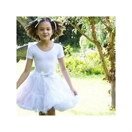 Frothy TUTU skirt, silver - Travis Designs