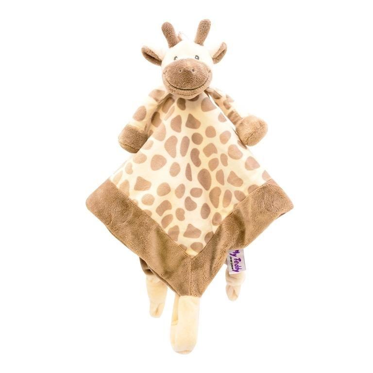 Giraf sutteklud, creme - My Teddy