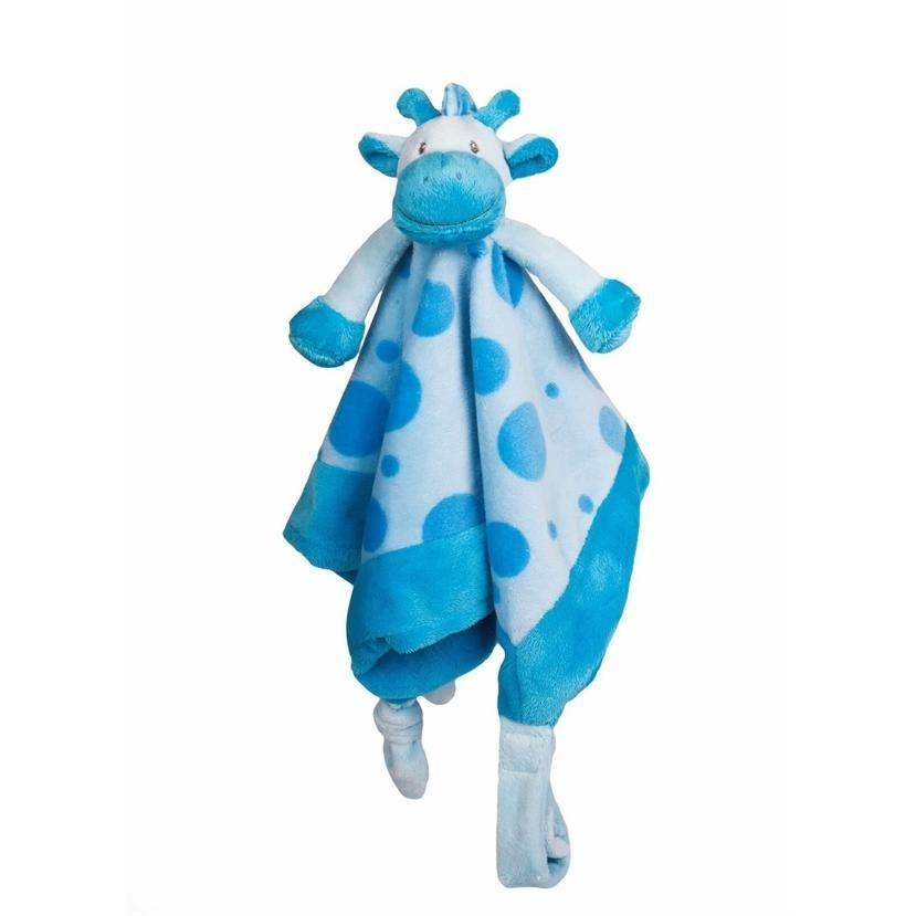 Giraf sutteklud lyseblå - My Teddy