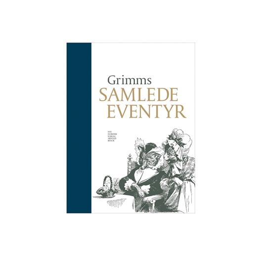 Grimms samlede eventyr med navn, blå