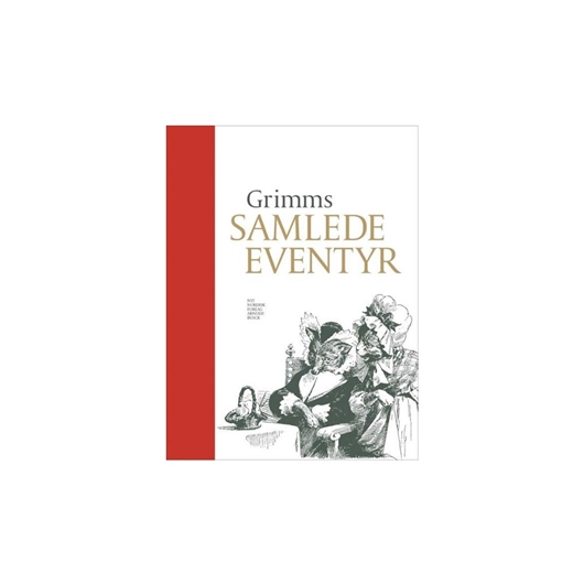 Grimms samlede eventyr med navn, rød