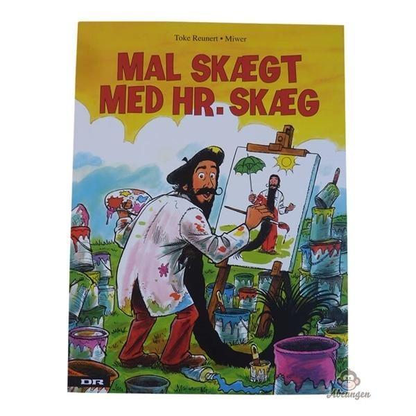 Billede af Mal skægt med Hr. Skæg - malebog