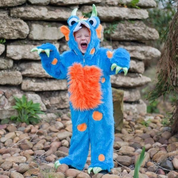 Monster kostume, 3-5 år - Travis Designs
