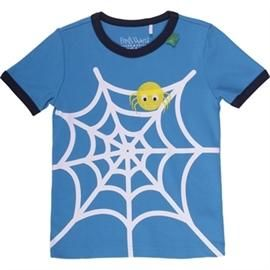 Spider t-shirt baby, blue - Freds World