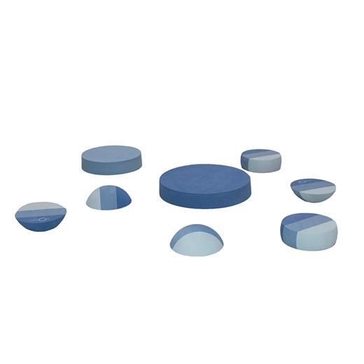 Image of   Blandede tumlesten, blå - bObles